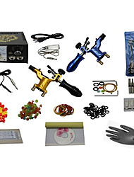 2 Guns Complete Tattoo Kit with Free Gift of 20 Tattoo Inks