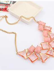 European and American multi-color necklace jewels jewelry items