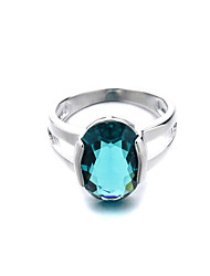 Brass Beautiful Fashion CZ Ladies Ring(More Colors)
