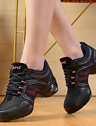 Scarpe da ballo - Non personalizzabile - Donna - Aerobica/Fitness - Basso - Pelle - Rosso / Oro