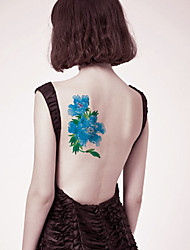 Sexy Flower Tattoo Stickers Temporary Tattoos(1 Pc)