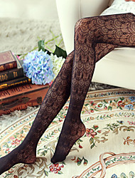 Women's Vintage Retro Pattern Pantyhose