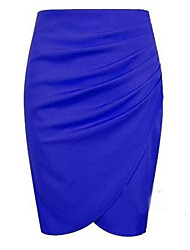 Women's Sexy/Bodycon Skirts , Knitwear Micro-elastic