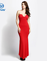CANIS@Sexy Women Off Shoulder Mermaid Long Party Dress