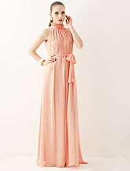Women's Maxi Dress , Stand Maxi Chiffon