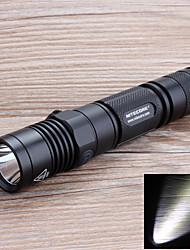 mh12 NiteCore mini-portátil de 5 modalidades 1000lm 18650 del CREE XM-l2 linterna (negro)