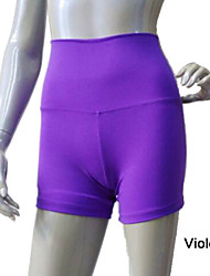 Shiny Nylon/Lycra Highwaisted Shorts More Colors  for Girls and Ladies