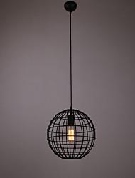 Mini Pendant Spherical Lamp,1Light,Painting Processing