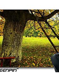 seenpin plaquettes branches de souris échelle en bois de la forêt des arbres personnalisé
