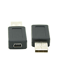 USB 2.0 Male to Mini USB 2.0 Female Converter Adapter