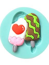 мороженое помады формы торта формы шоколада для кухни выпечки сахар торт инструмент украшения