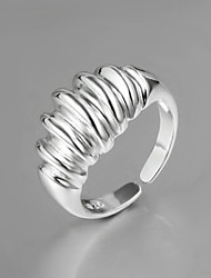 Noble Personality Adjustable Sterling Silver Party Band Ring For Women 2016