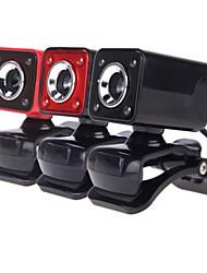 nuovo USB 2.0 da 12 megapixel cam fotocamera hd web con microfono visione notturna clip-on da 360 gradi per il tavolo skype computer pc