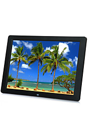 "15"" 1080P HD LED Digital Photo Frame MP5 Player Support Most Video Formats"