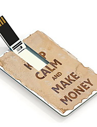 4GB Keep Calm and Make Money Design Card USB Flash Drive