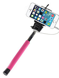 Mowto Z01 Handheld Selfie Rod Monopod for GoPro Hero & Shutter for IOS / Android Cellphones-Pink