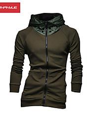 occasionnels amincissent la veste de sport walk®men Manwan avec patchwork capot.