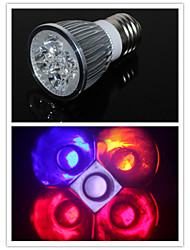 bestlighting 5 w 2 + 1 rouge bleu blanc 1 + 1 orange rouge / bleu AC100-240 v