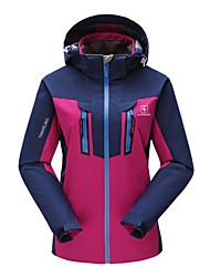 Tops/Jacke/Ski/Snowboard Jacken/Windjacken/3-in-1 Jacken/Jersey/Kundenspezifische ( Rot/Purpur ) - für