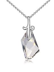 felizes para ouvir curto colar banhado a ouro 18k verdadeira sombra platina prata cristal pedras de cristal austríaco cristalizados