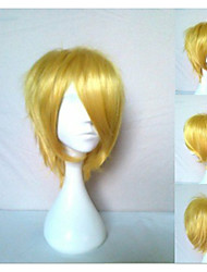 New Arrival Cosplay Wigs 2 Colors Synthetic Hair Wig Short Straight Natural Animated Wigs Party Wigs
