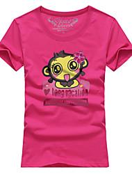 Ms. Couples summer short sleeve T-shirt Xi monkey # 059