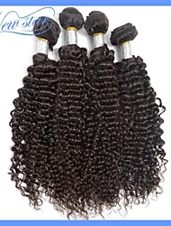 New Star Brand Beautiful 10-34 Inches Peruvian Kinky Curly Remy Virgin Human Hair Weaves