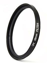 MENGS® 49mm UV Filter With Aluminum Frame For Camera