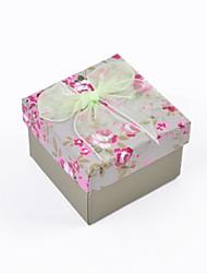 Коробки для бижутерии Ткань / Бумага 1шт