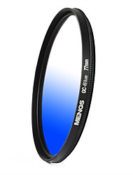 MENGS® Graduated BLUE Filter For Canon Nikon Sony Fuji Pentax Olympus Etc Digital And DSLR Camera