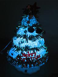 Multicolor Tiny Crystal Christmas Tree Pattern Night Light