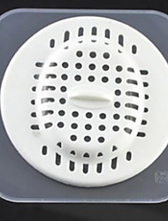 Silicone Deodorant Kitchen Bath Floor Drain Filter Strainer Hair Catcher Stopper 9.8*9.8*2 cm