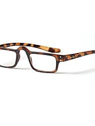 [Free Lenses] Titanium Rectangle Full-Rim Reading Eyeglasses