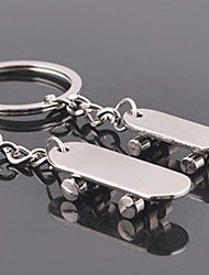 Unisex alloy wedding/leisure scooter unresolved key chains to 1 Pair
