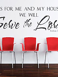 Wall Stickers Wall Decals,  English Words PVC Wall Stickers