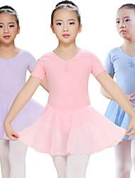 Ballet Dresses&Skirts/Tutus & Skirts/Tutus Women's Performance/Training Spandex/Modal Light Blue/Light Purple/Pink Kids Dance Costumes