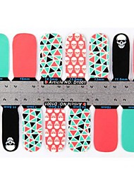 Ultra-Thin Nail Stickers Nail Stick Decals Patch-1001