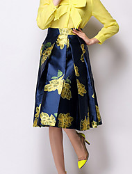 ICED™Women's Fashion Slim  Print Skirt