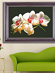 Flower Paintings Products For Crafts Living Room Diamond Cross Stitch Needlework Wall Home Decor 38*28cm