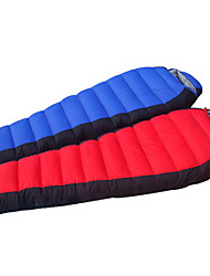 YOURJOY KEEP WARM/Compression/Cold Weather Nylon/Duckdown Sleeping Bag Red/Blue