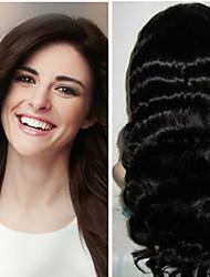 1pc / lot 22inch / 55cm 150cm de ancho 100g / pack multicolors extensión onda del cuerpo de la trama del pelo humano grade5a extensión del