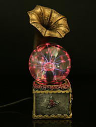 Resin Crystal Ball Phonograph Rechargeable LED Lamp