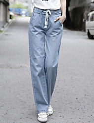 Women's Fashion  Denim Loose Long Pants