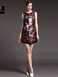 YIMILAN® Women's 2015 New Hot Summer in Europe And The United States Marks Mother Unique Dress
