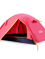 Single Room Waterproof Camping Tent for 2 Person 1622 Red