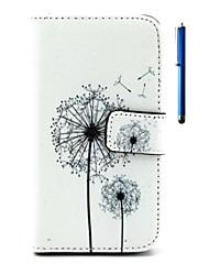 For LG Case Wallet / Card Holder / with Stand / Flip Case Full Body Case Dandelion Hard PU Leather LGLG K10 / LG K8 / LG K7 / LG K4 / LG