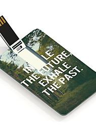 4gb de boom ontwerp kaart usb flash drive