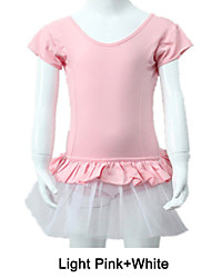 Cotton/Lycra Cap Sleeve Leotard Tutus More Colors for Ladies and Girls