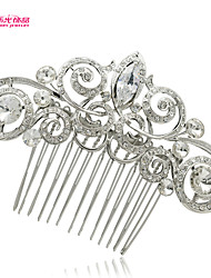 Neoglory Jewelry Hair Comb Hairpins with Shaped Rhinestone for Lady Bridal/Wedding/Daily/Pageant