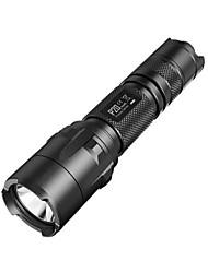 NITECORE P20  800 Lumens HAIII Tactical CREE XM-L2 T6 LED Flashlight Torch(1X118650/2XCR123, Black)